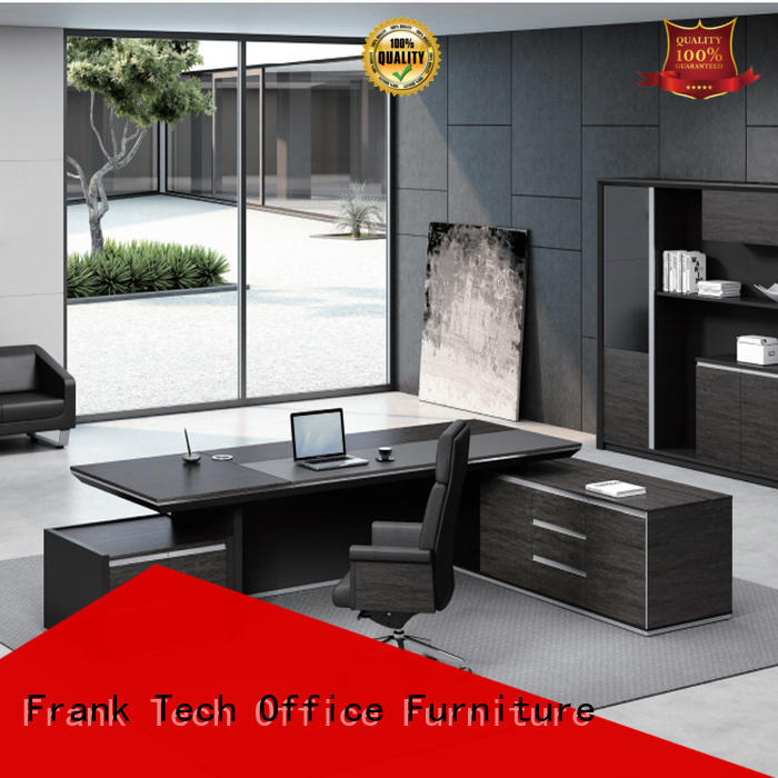 high tech executive office table return from manufacturer