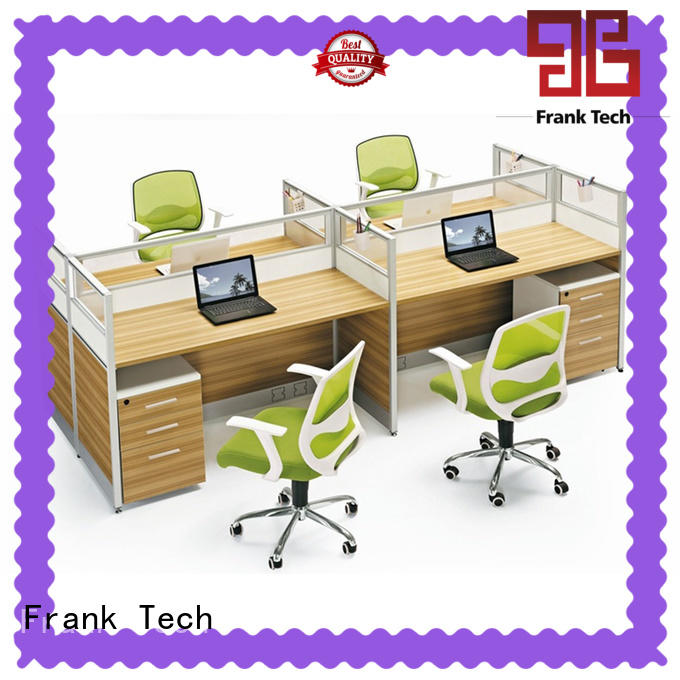 Frank Tech wooden office workstation call center workstation