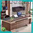 executive modern office desk bulk production for bank