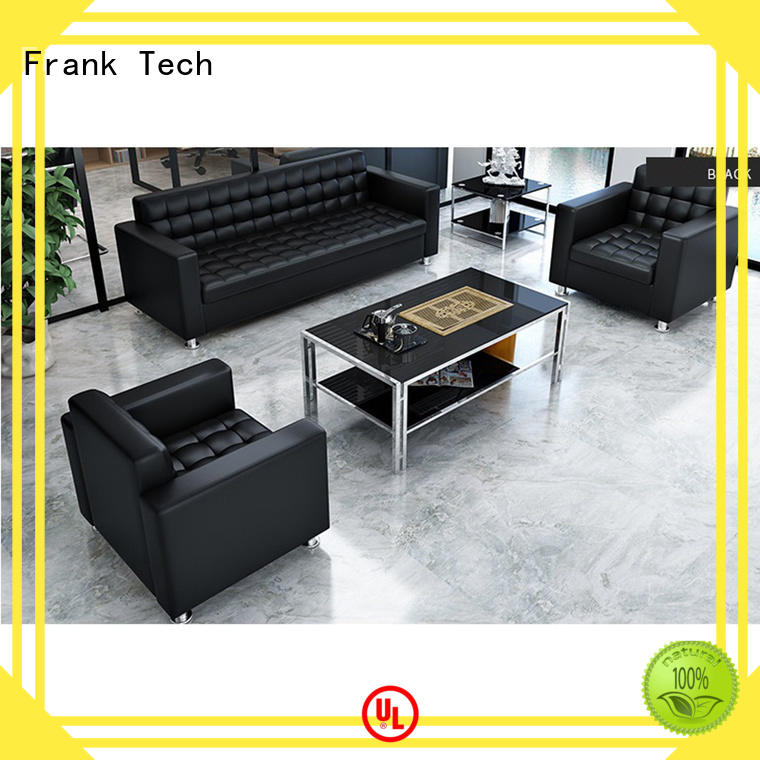 Frank Tech affordable office sofa Aluminum Base for home