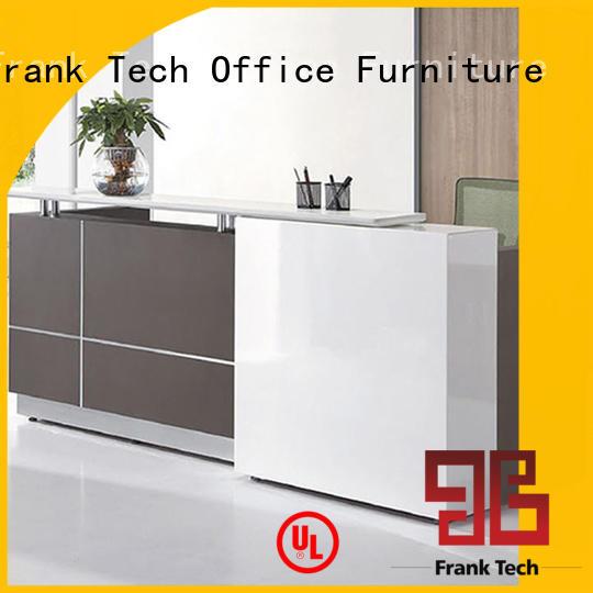 Frank Tech simple design reception counter design office workstation for home