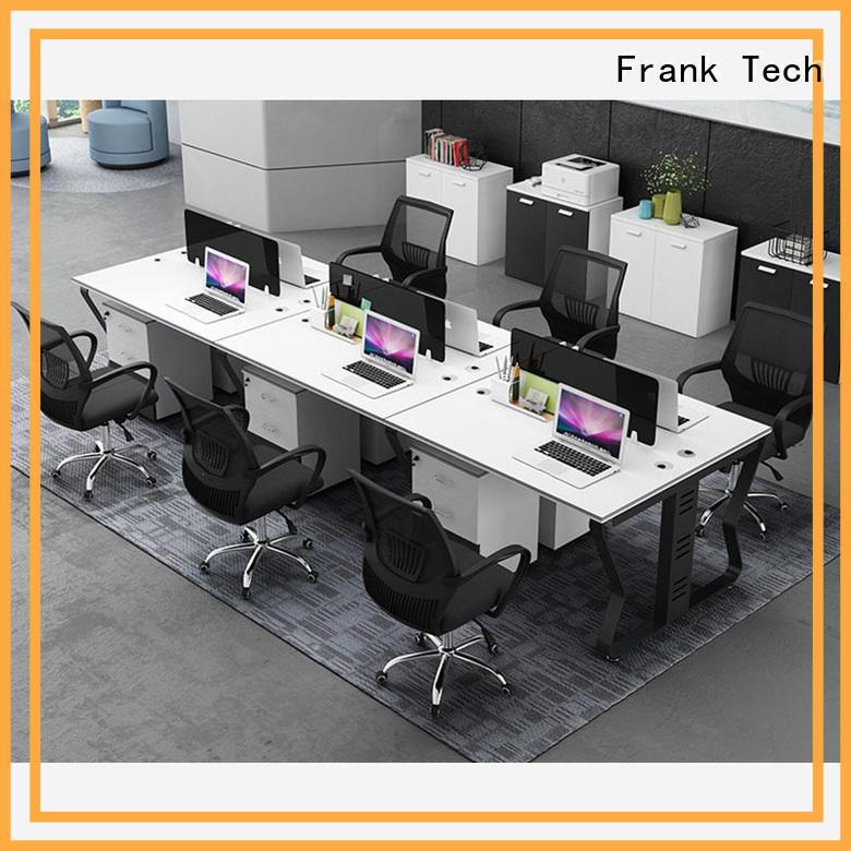 Frank Tech new design workstation desk colors exchangeable for bank