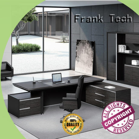 ceo executive office desk side Frank Tech
