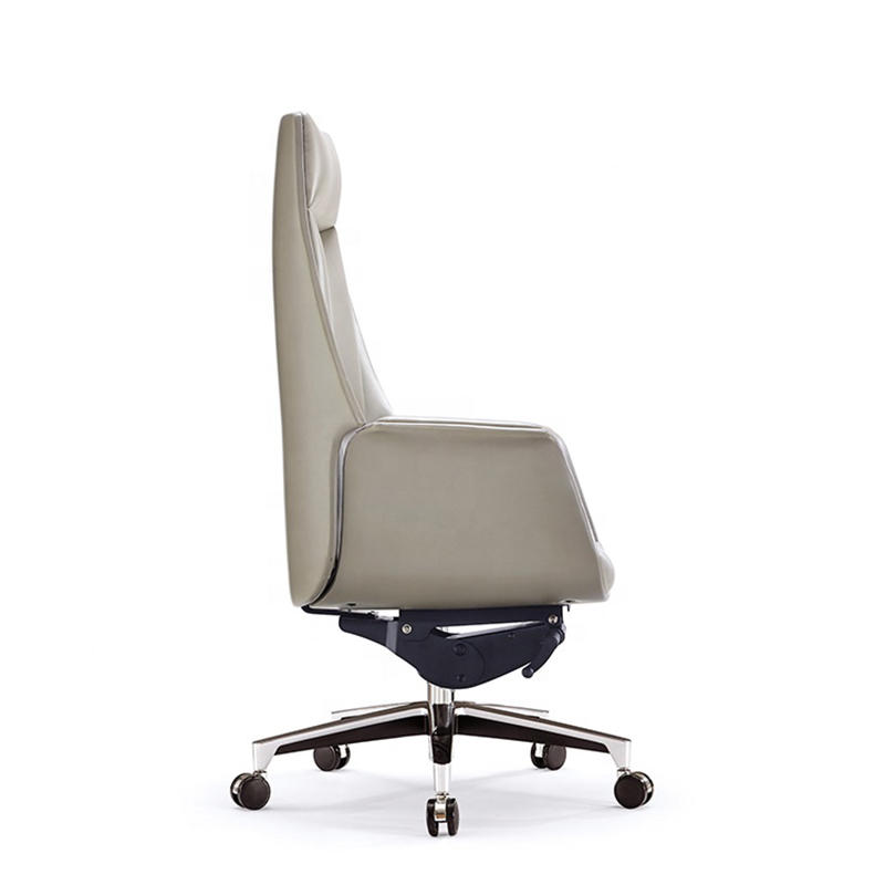 Leather High Back Executive Office Chair Leather Swivel Office Chair FK-5004-3