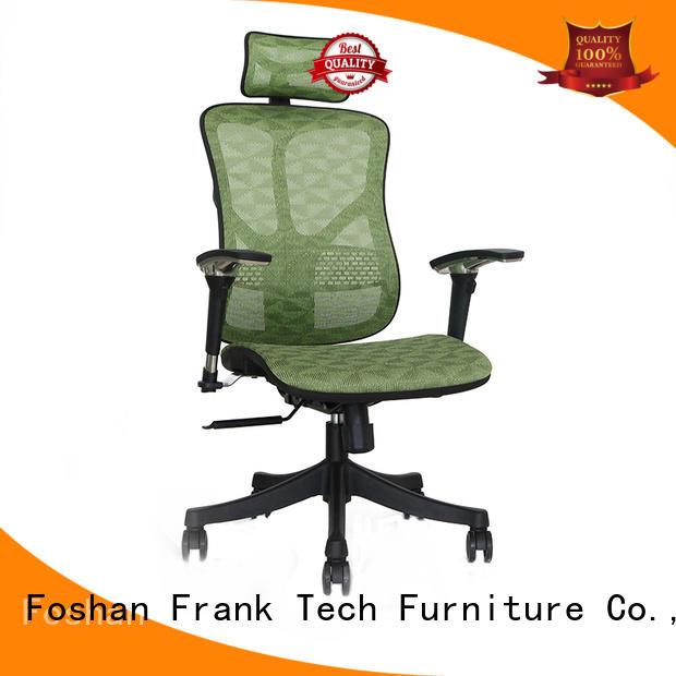 Frank Tech comfortable ergonomic desk chairs bulk production for hospital