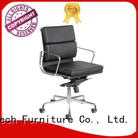 Frank Tech high teach leather desk chair free design for bank