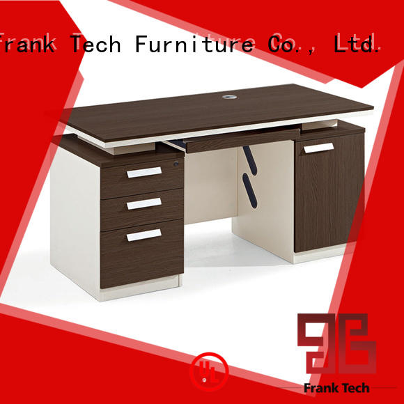 Frank Tech mordern wood office desk China Factory for school