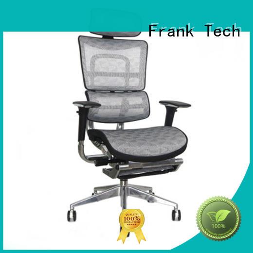 aluminum ergonomic computer chair from manufacturer for bank Frank Tech