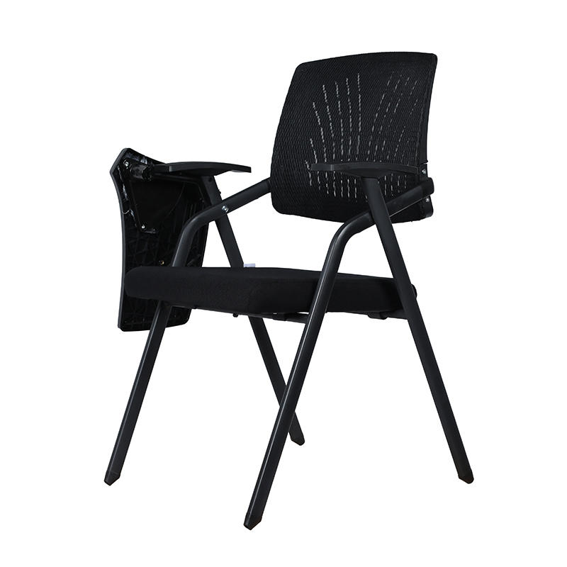 Foldable Mesh Upholstered Nesting Chair Conference Room Chair-2