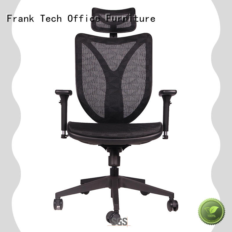 Frank Tech MultiColor high back ergonomic chair with sophisticated look for bank