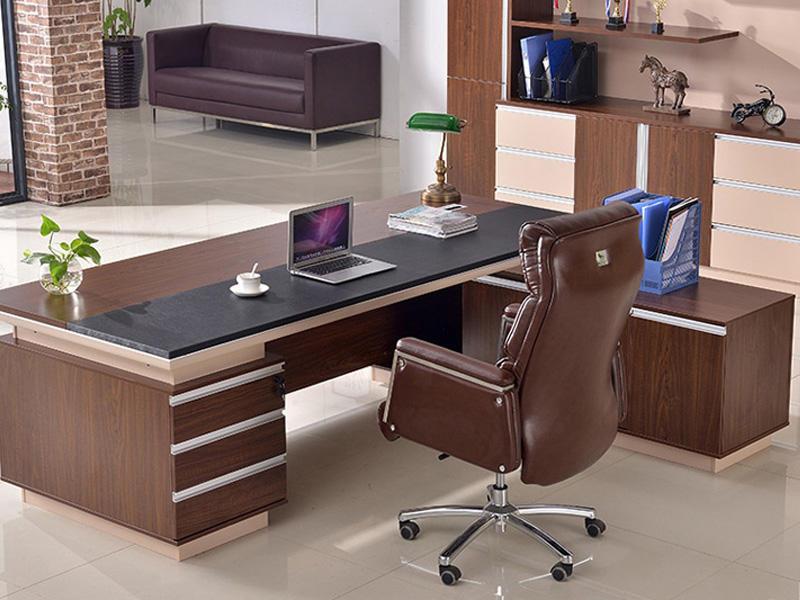 Modern Design CEO Executive Office Table Wooden Manager Work Desk Office Desk FK-1006-3