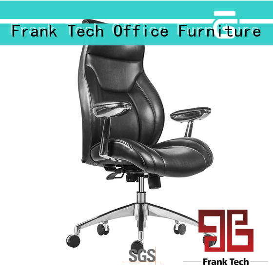 reasonable brown leather executive office chair by Chinese manufaturer for officer Frank Tech