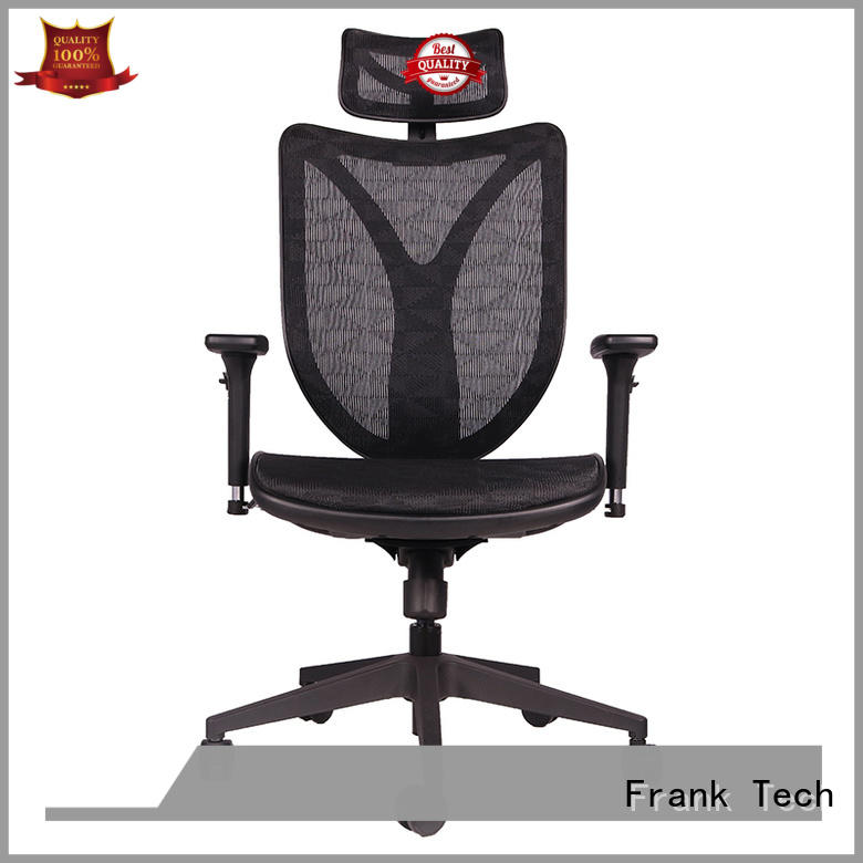 Frank Tech adjustable ergonomic computer chair bulk production for bank