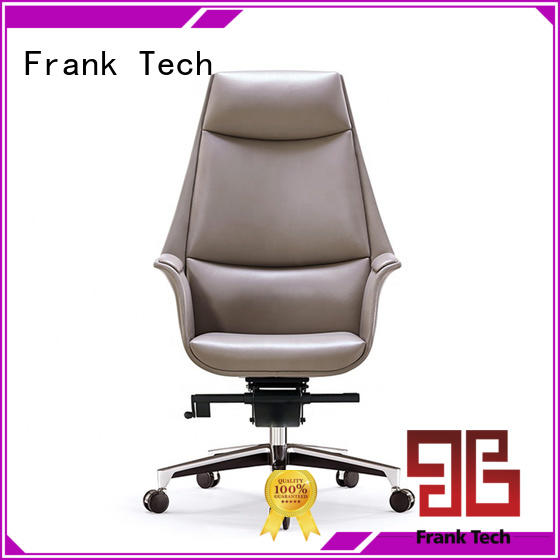 Frank Tech middle modern leather chair at discount for hospital