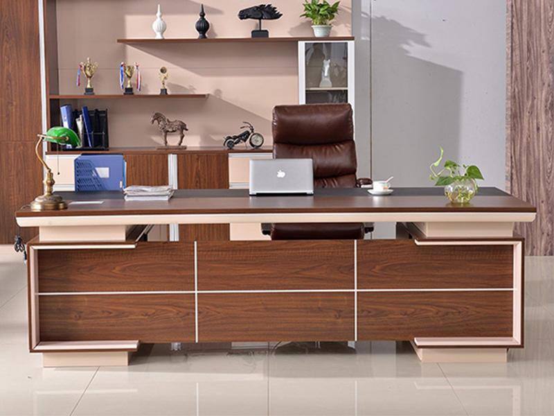 Modern Design CEO Executive Office Table Wooden Manager Work Desk Office Desk FK-1006-2
