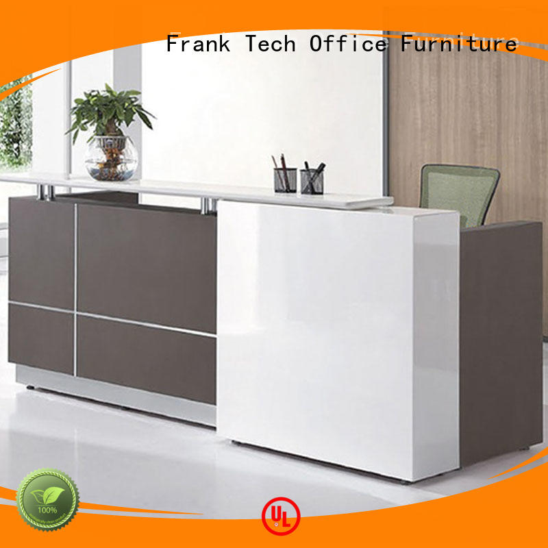 Frank Tech high class fabric reception counter design