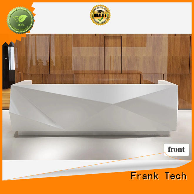 reception office reception counter call center workstation for airport Frank Tech