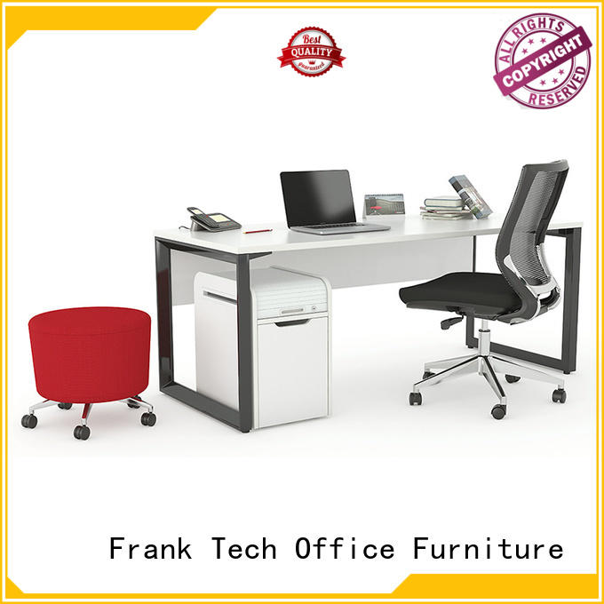 Frank Tech wood office desk for wholesale
