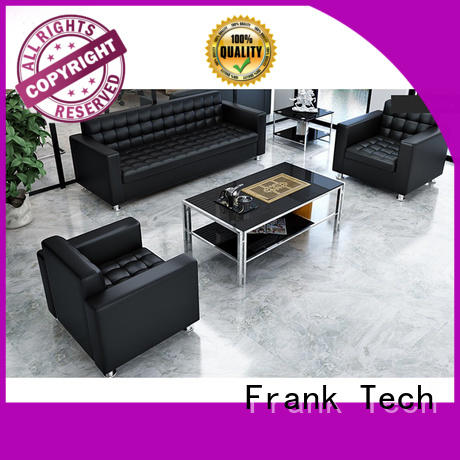 complete Executive office sofa black colors exchangeable for bank