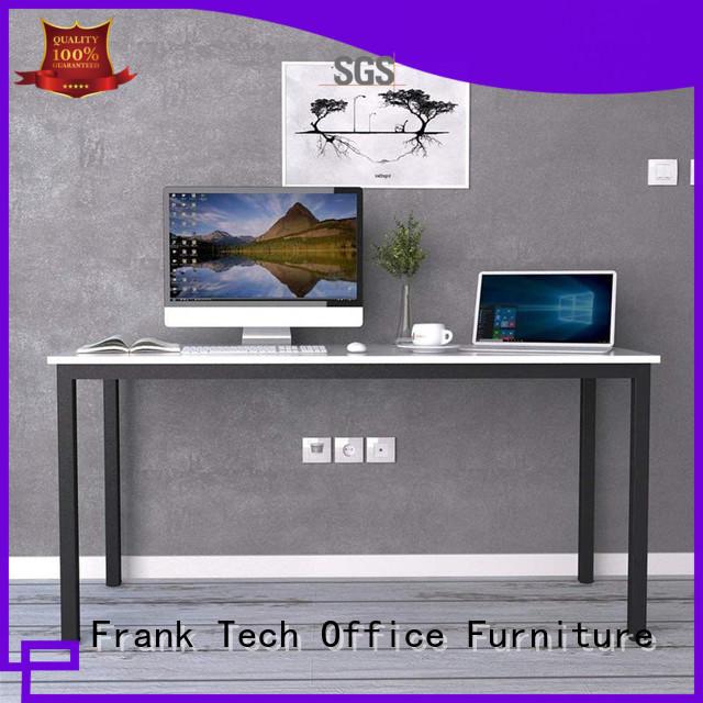 Modern Office Table Desk Simple Design Metal Frame Wooden Office Table Executive Single Computer Desk FK-H001
