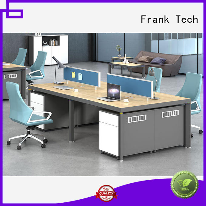 Frank Tech high end metal frame workstation space for bank
