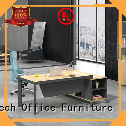 High End Office Executive Table Boss Table Design Home Office Desk Executive Office Desk With Return Side Cabinet  ET-1680-3