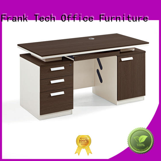 high end wood office desk executive from manufacturer for bank