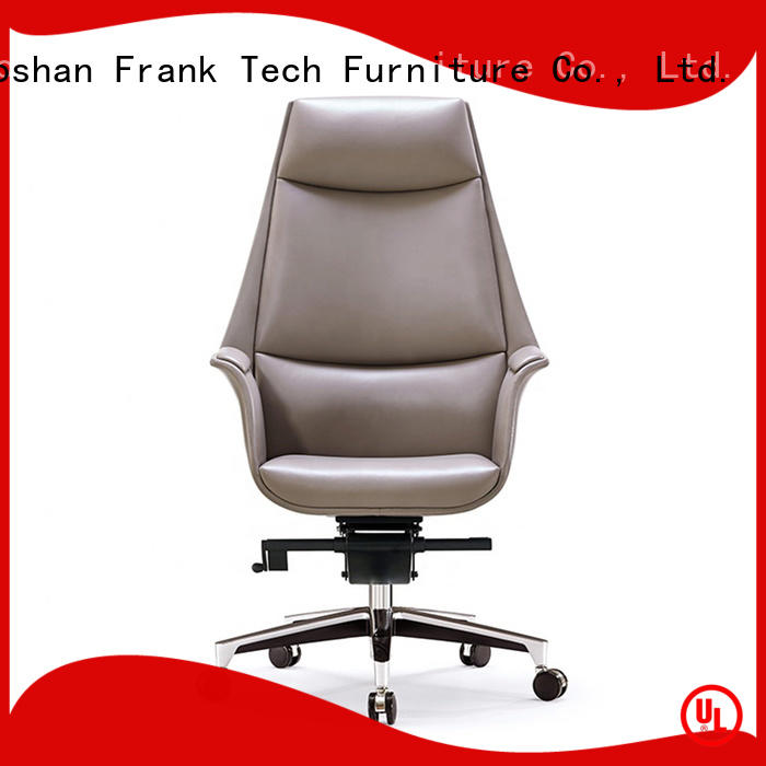 Frank Tech Luxury leather swivel chair by Chinese manufaturer