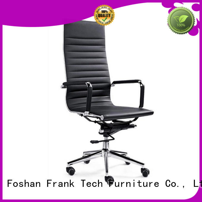 Frank Tech metal leather office chair long-term-use for hospital