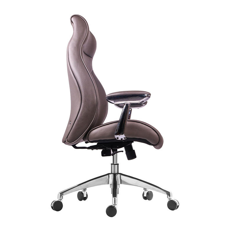 WorkWell Comfortable High Back Luxury Wooden Furniture Executive Office Chair For Boss AF-9931-2