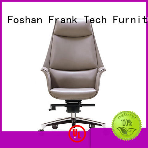 metal leather office chair at discount for airport Frank Tech