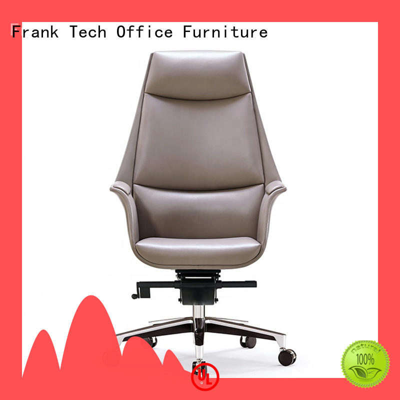 swivel leather desk chair boss for office Frank Tech