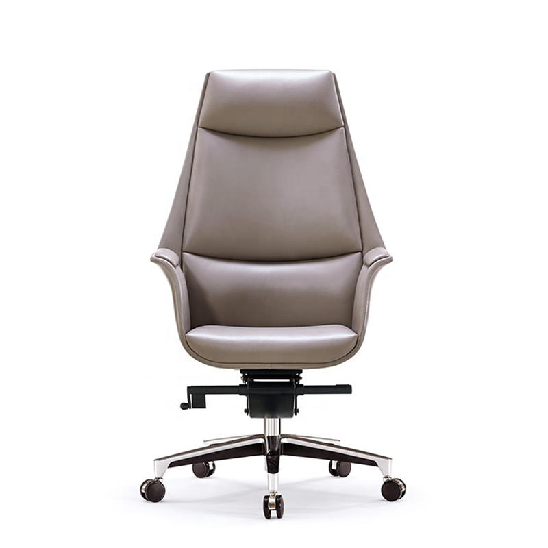 Leather High Back Executive Office Chair Leather Swivel Office Chair FK-5004-1