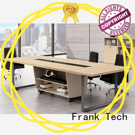 meeting table person Frank Tech