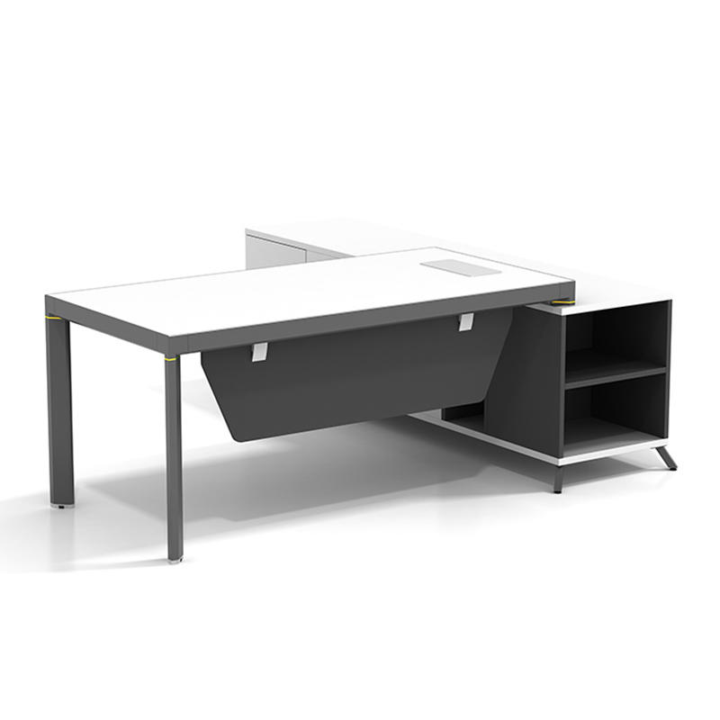High End Office Executive Table Boss Table Design Home Office Desk Executive Office Desk With Return Side Cabinet  ET-1680-3-3