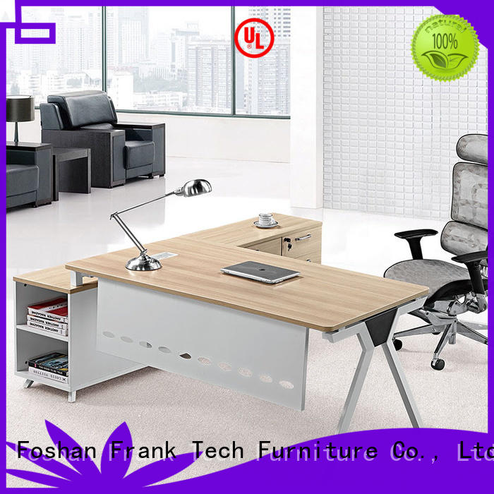wooden small reception desk from manufacturer for hospital Frank Tech