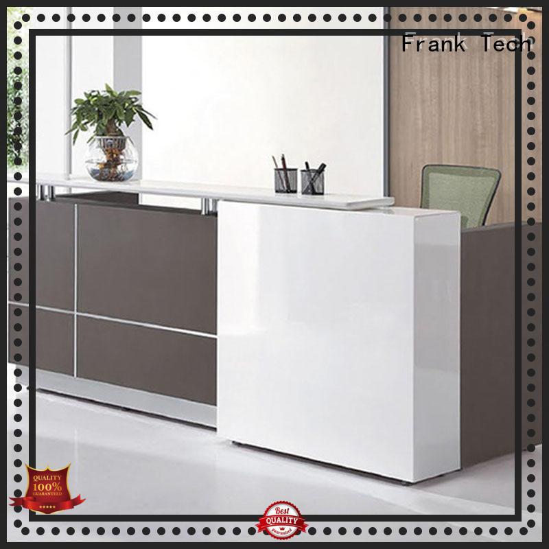 white modern reception desk Frank Tech