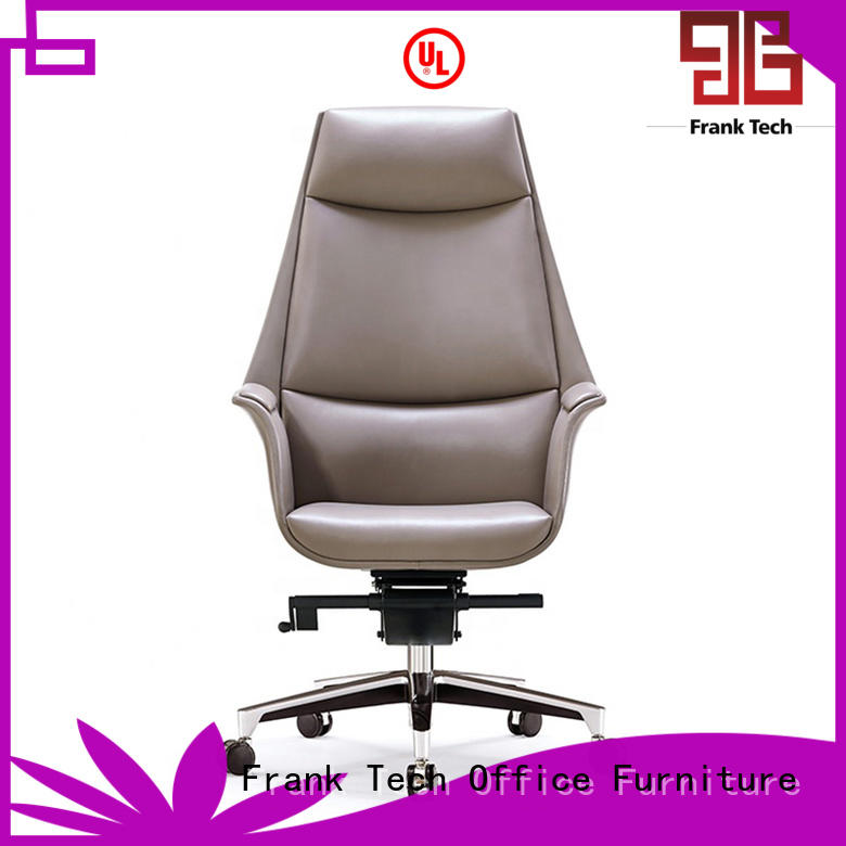 mordern high quality leather chair at discount for bank Frank Tech