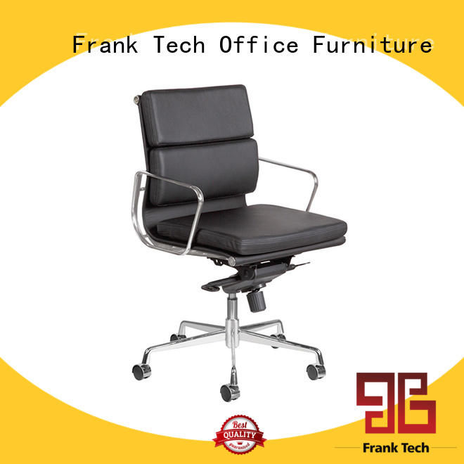Frank Tech back modern leather chair China Factory