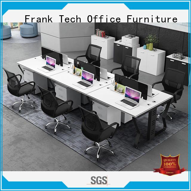 return partitions workstation desk wooden Frank Tech company