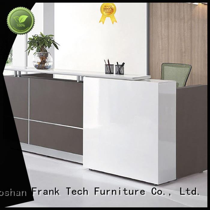new design office reception table desk for airport