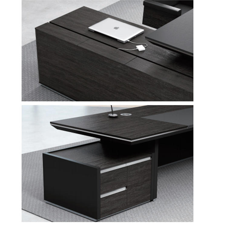 Frank Tech executive executive office table from manufacturer for hotel-3