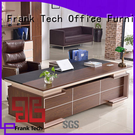 ceo small reception desk cabinet for bank Frank Tech