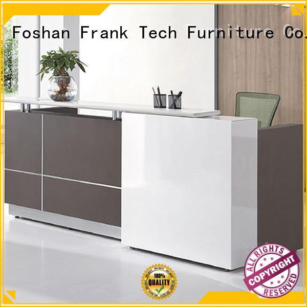 Frank Tech wooden modern reception desk