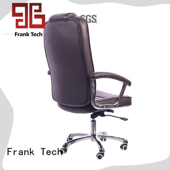 Frank Tech modern design leather desk chair bulk production for home