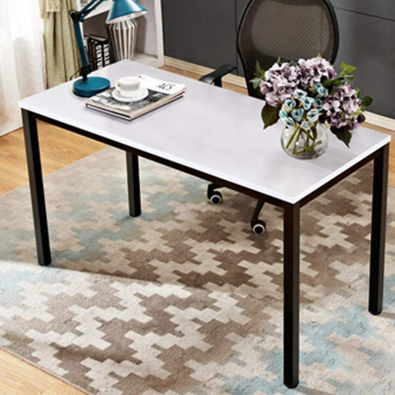 Modern Office Table Desk Simple Design Metal Frame Wooden Office Table Executive Single Computer Desk FK-H001-2