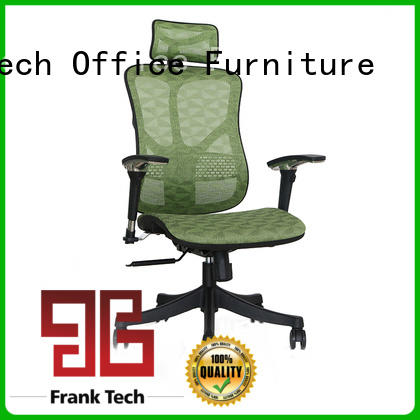 Frank Tech aluminum ergonomic desk chairs with resists stains for school