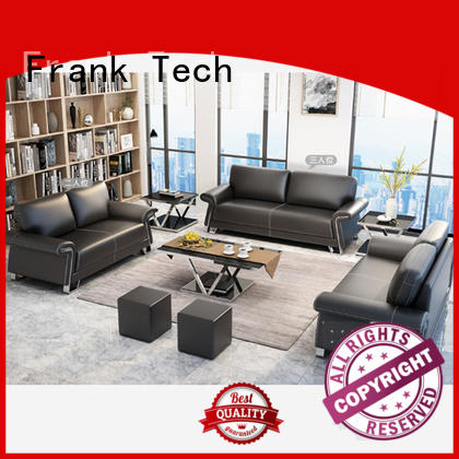 black office sofa set quality for hotel Frank Tech