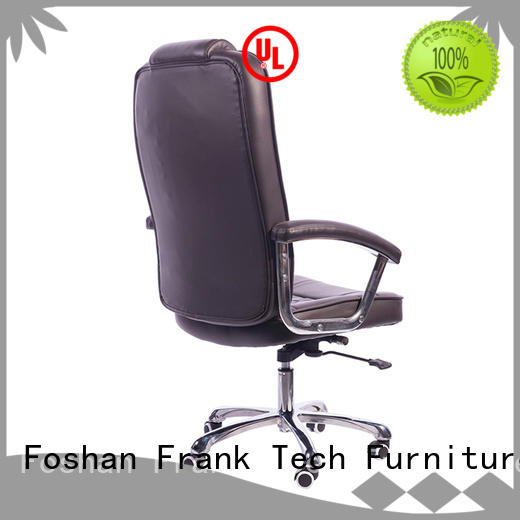 Frank Tech high teach leather desk chair from manufacturer