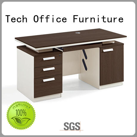 Frank Tech executive wood office desk for wholesale